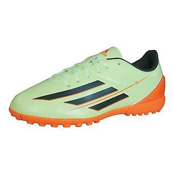 Adidas F5 TRX TF J Boys fodbold trænere / støvler - grøn