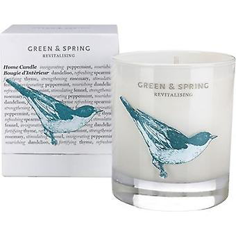 Green & Spring Revitalising Home Candle