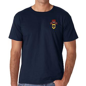 ARVN Vietnamese Ranger Infantry Bn Embroidered Logo - Ringspun Cotton T Shirt