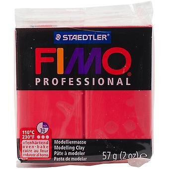 Fimo Professional Soft Polymer Clay 2oz-Red EF8005-200