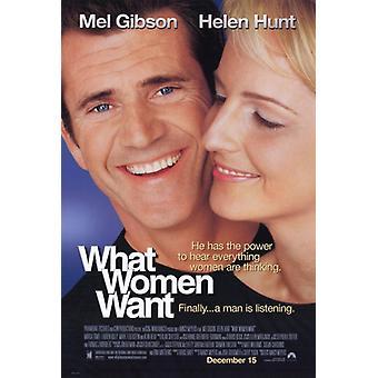 Что женщины хотят фильм плакат печать (27 x 40)