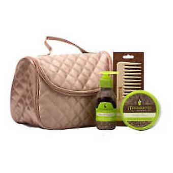 Macadamia Quilted Satin Bag Pack Promo