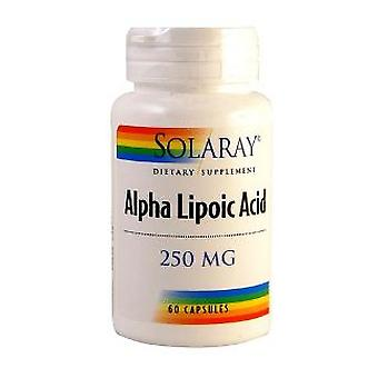 Solaray Alpha Lipoic Acid 250mg / 60 kapsler Solaray