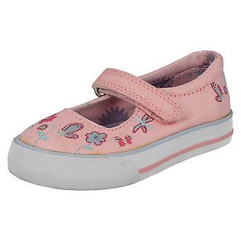 Meisjes Startrite Casual Canvas schoenen Amalfi