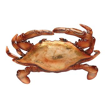 Tortoise Shell Crab Christmas Holiday Ornament 7 Inches