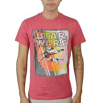 Star Wars X-Fighters Men's Red T-shirt