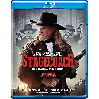 Diligencen: Texas Jack historie [Blu-ray] USA importen