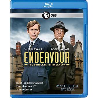 Endeavour: Complete Third Season [Blu-ray] USA import
