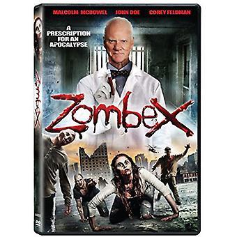 Zombex [DVD] USA importerer