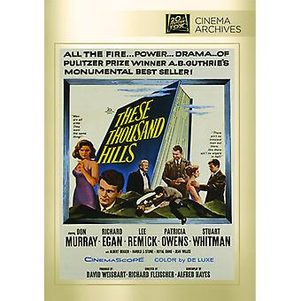 These Thousand Hills [DVD] USA import