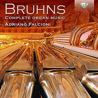Bruhns - komp Muzyka organowa [CD] USA import