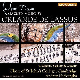 O.D. Lassus - Laudent Deum: Sacred Music by Orlande De Lassus [CD] USA import