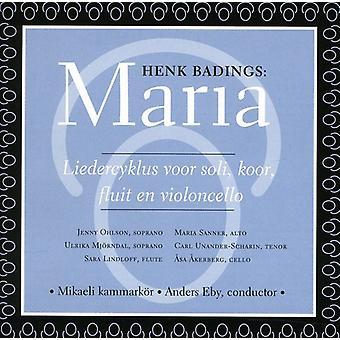 Henk Badings - Henk Badings: Maria [CD] USA import