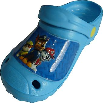 Boys Paw Patrol Clogs Summer Beach Sandals