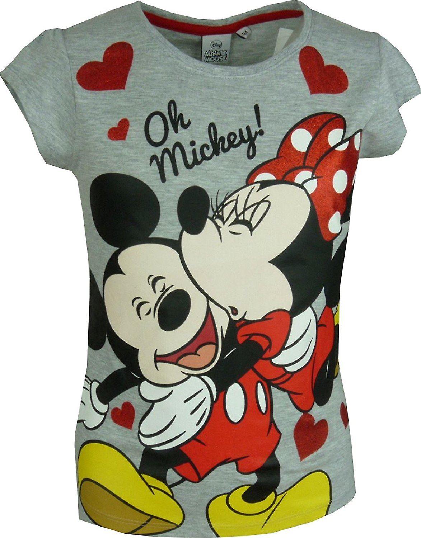 Girls Disney Minnie Mouse \ Short Sleeve T-Shirt
