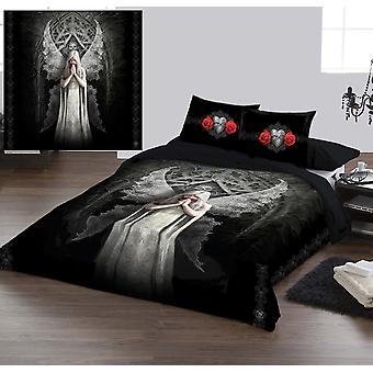 ONLY LOVE REMAINS - Duvet & Pillows Covers Set Double/Full Twin