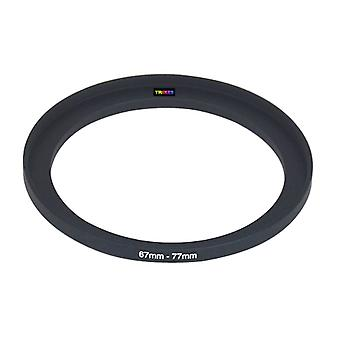 TRIXES 67mm tot 77mm 67-77 Stepping Step Up Camera Filter Ring-Adapter