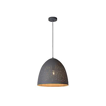 Lucide ETERNAL Star Light Sparkle Pendant, Black
