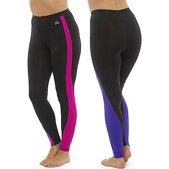 2Pk damer Tom frankerne to Tone Sport Gym Leggings mode sportstøj