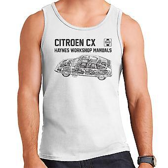 Хайнс мастерская ручной 0528 Citroen CX черный мужской жилет