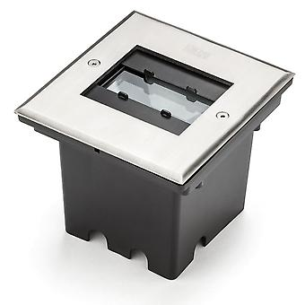 Konstsmide High Power Recessed Square Ground Light 12W