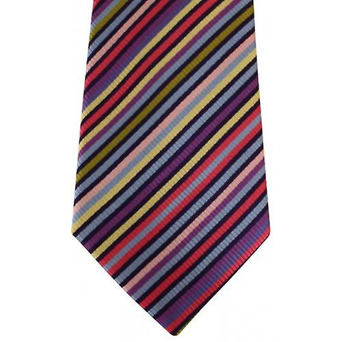 Posh and Dandy Striped Tie - Multi-colour