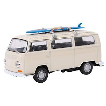 Legler Coche Modelo Vw Bus T2 Con Tabla De Surf