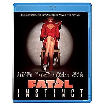 Fatal instinkt [Blu-ray] USA importerer