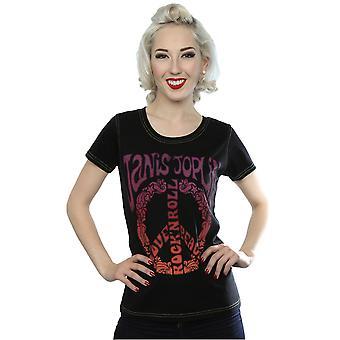 Aftershow Women's Janis Joplin Love Peace T-Shirt
