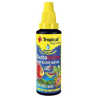 Tropical Bacto-Active Live Bacteria 30 Ml (Fish , Maintenance , Water Maintenance)