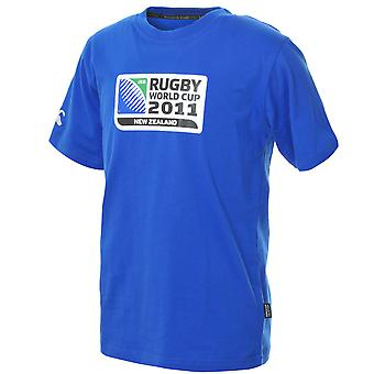 CCC Rugby World Cup 2011 Logo T-Shirt Junior [royal]