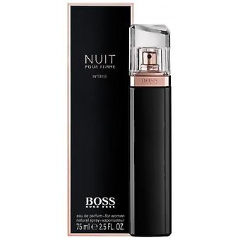 Hugo Boss Boss Nuit Intense Pour Femme 75ml Eau de Parfum Spray for Women