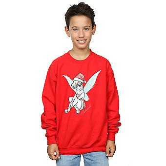 Disney Boys Tinkerbell Christmas Fairy Sweatshirt