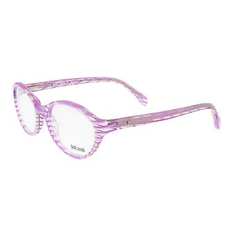 Just Cavalli JC0478 083 Clear Pink Stripe Optical Frames
