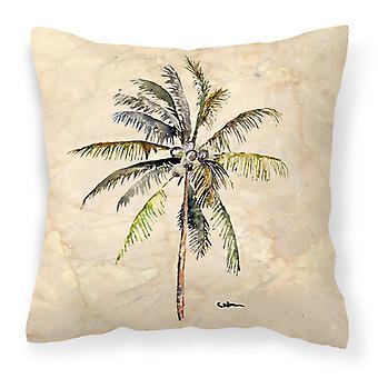 Carolines Treasures  8482PW1414 Tree - Palm Tree Decorative   Canvas Fabric Pill