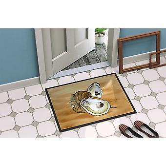 Carolines Treasures  8160-MAT Oyster  Indoor or Outdoor Mat 18x27 8160 Doormat
