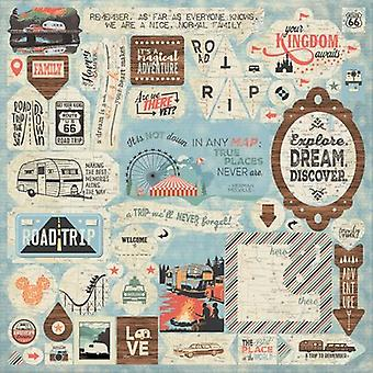 Pastime Cardstock Stickers 12