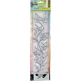 Dyan Reaveley's Dylusions Clear Stamp & Stencil Set 12