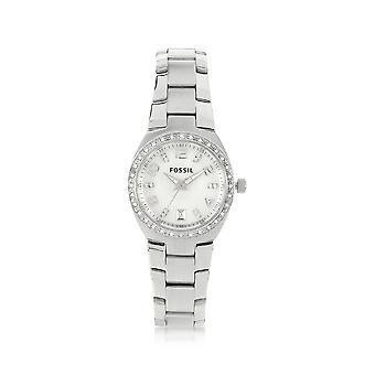 Fossil AM4141 women silver steel watch