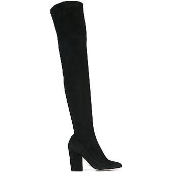 Sergio Rossi women's A75290MAF7141000 Black Suede boots