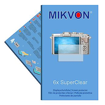 Olympus PEN E-PL8 screen protector- Mikvon films SuperClear
