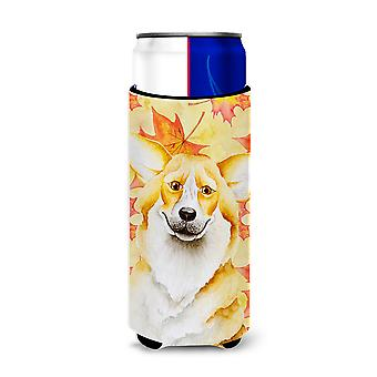 Carolines Treasures  CK1404MUK Corgi Fall Michelob Ultra Hugger for slim cans