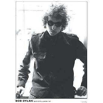 Bob Dylan Savoy Hotel 1967 Poster Poster Print