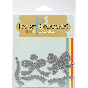 Paper Smooches Dies-Ribbon DED419