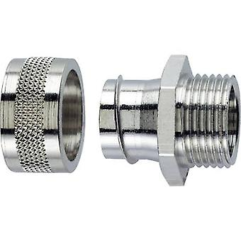 LappKabel 55501981 SILVYN® LGF-2-M 12X1,5 SILVYN Conduit Connector Straight Nickel-plated brass Silver