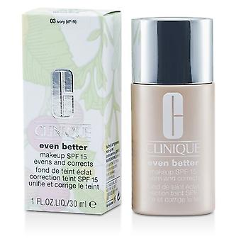 Clinique Even Better Makeup SPF15 (Dry Combination to Combination Oily) - No. 03/ CN28 Ivory 30ml/1oz