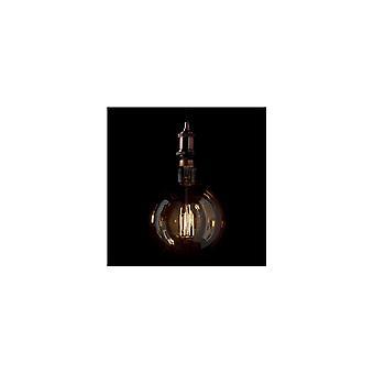 Idealne Lux duży Vintage Amber E27 Globe żarówka LED 4W, 19,5 cm X 29 cm