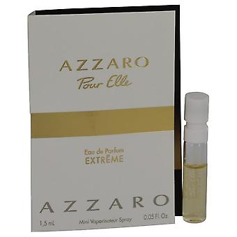 Azzaro Pour Elle Extreme Vial (Sample) By Azzaro