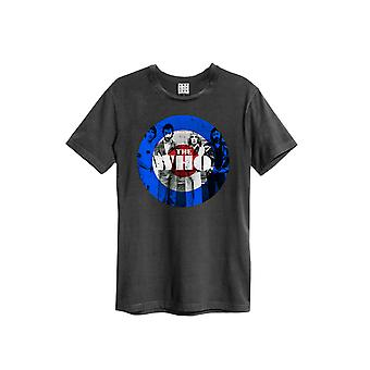 Amplified Women's The Who Target Boyfriend Fit T-Shirt