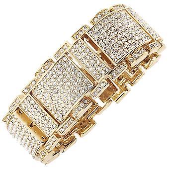 Iskallt ut bling HipHop armband armband - RICK ROSS guld